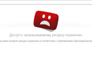 Довольно простой способ обойти блокировку запрещенных сайтов