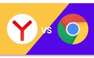 Что лучше Google Chrome или Yandex браузер: сравнительная характеристика различий