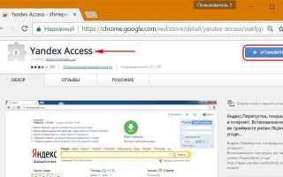 Yandex Access что это такое? (или по-русски Яндекс Пропуск)