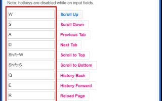 Все быстрые клавиши Yandex browser: как настроить комбинацию клавиш?