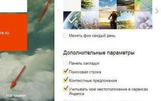 Элементы Яндекса для различных популярных браузеров