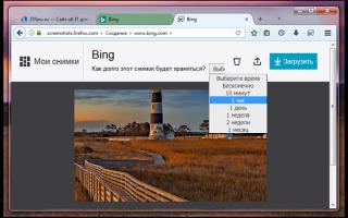 Mozilla Firefox Screenshots — что за программа, как отключить