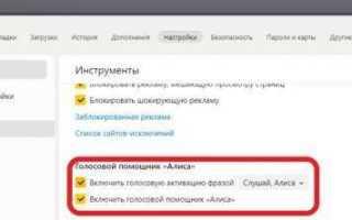 Яндекс браузер без Алисы — версия «Лайт»