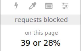 uBlock Origin версия 1.24.2