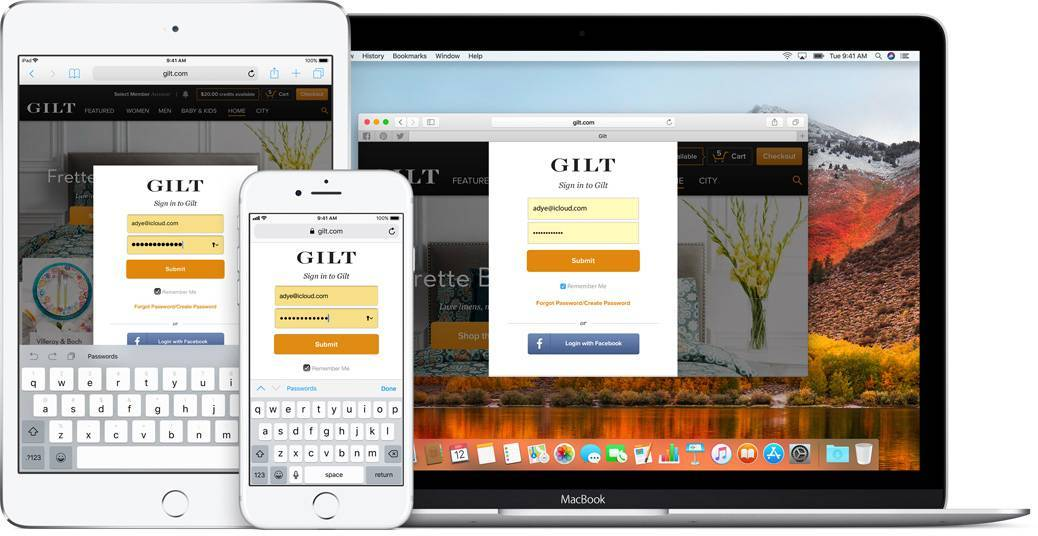 Safari браузер на компьютере, планшете и телефоне (фото)
