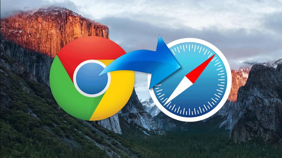 Как экспортировать закладки из Google Chrome в Safari на Mac